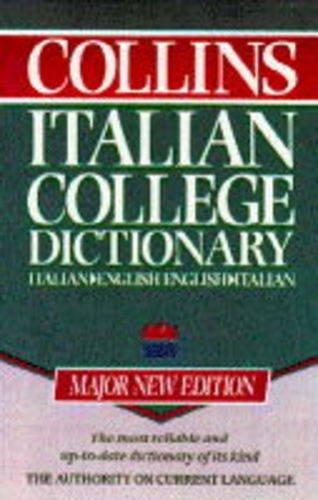 9780004707280: Collins Italian College Dictionary