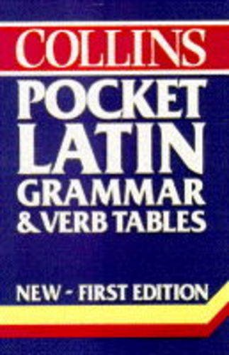 9780004707310: Collins Pocket Latin Grammar and Verb Tables