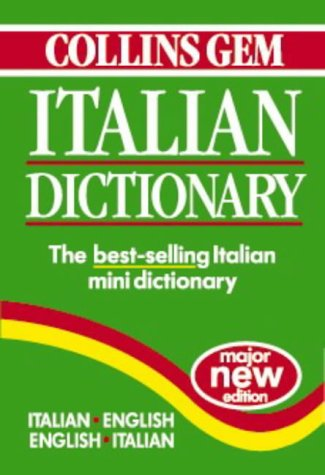 9780004707464: Collins Gem Italian Dictionary: Italian-English English-Italian