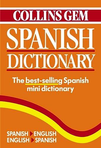 9780004707501: Collins Gem Spanish Dictionary, 4th Edition