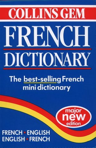 9780004707518: Collins Gem - French Dictionary (Collins Gems)