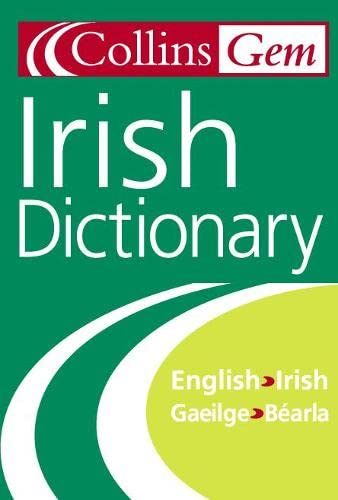 9780004707532: Collins Gem Irish Dictionary
