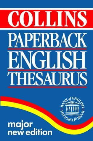 9780004707792: Collins Paperback Thesaurus