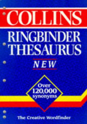 9780004707822: Collins Ringbinder Thesaurus
