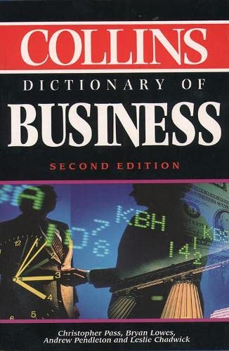9780004708034: Collins Dictionary of Business