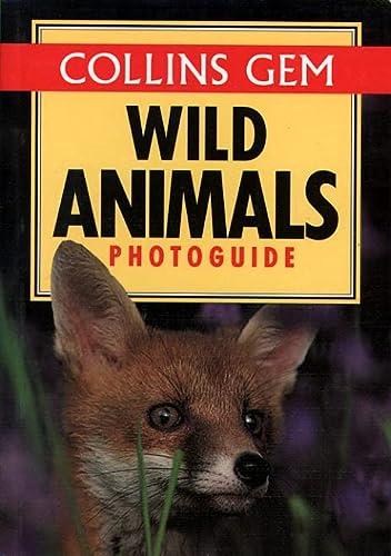 9780004708249: Wild Animals (Collins Gem Photoguide)