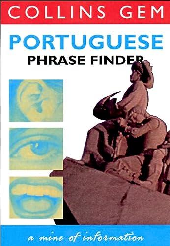 9780004708393: Portugese Phrase Finder (Collins Gem Phrase Finder)