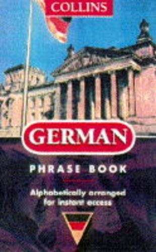 9780004708652: German (Collins Phrase Books)