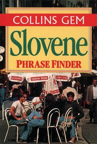 9780004708836: Collins Slovene Phrase Finder (Collins Gem)