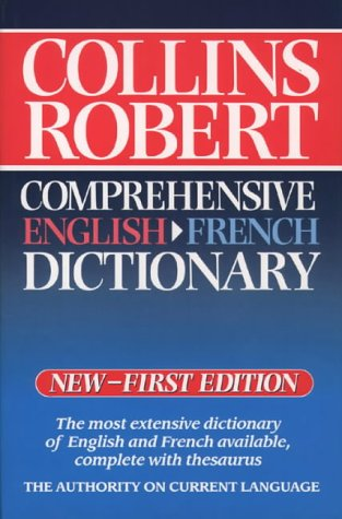 9780004708966: Collins Robert Comprehensive English-French Dictionary: Volume 2: English-French v. 2