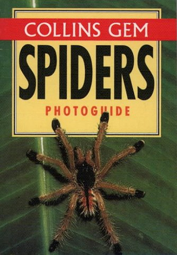 9780004709048: Spiders (Collins Gem Photoguide) (Collins Gems)