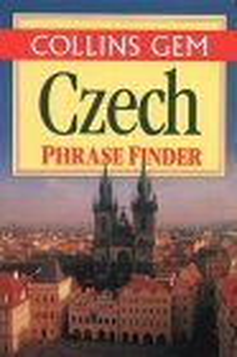 9780004709376: Collins Gem - Czech Phrase Finder (Collins Gems)
