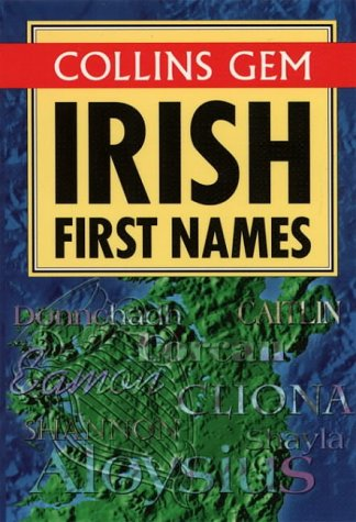 9780004709420: Irish First Names (Collins Gems)