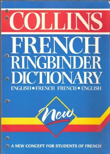 9780004709826: Collins French Ringbinder Dictionary