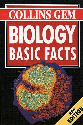 9780004709949: Biology: Basic Facts (Collins Gem Basic Facts)