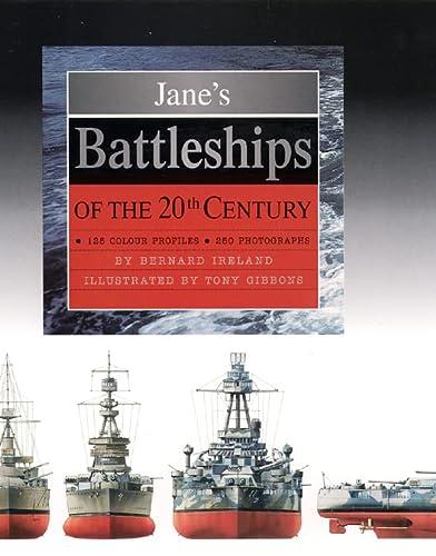 9780004709970: Jane's Battleships of the 20th Century