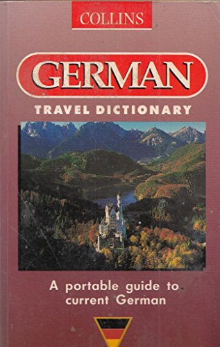 9780004710167: Collins German Travel Dictionary