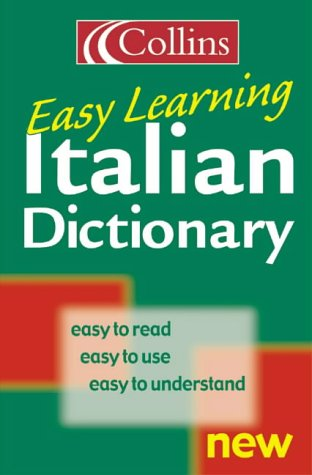9780004710303: Collins Easy Learning Italian Dictionary (Collins Easy Learning Italian) (Easy Learning Dictionary)