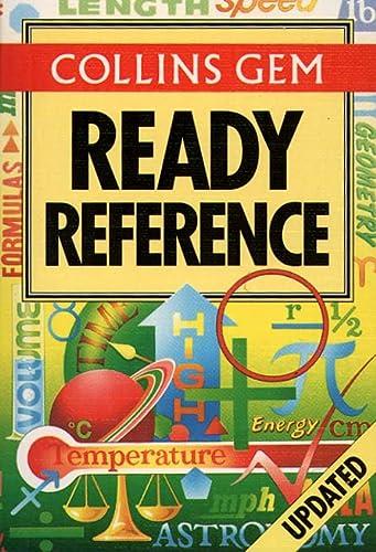 9780004720081: Collins Gem Ready Reference (Collins Gems)