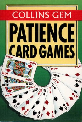 9780004720166: Patience Card Games (Collins Gem)