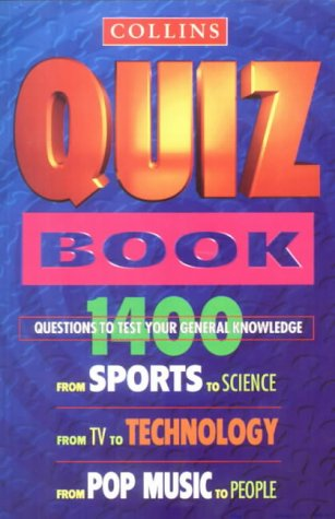 9780004720234: Collins Quiz Book (Collins Pocket Reference)