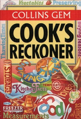 9780004720586: Cook's Reckoner (Collins Gem)