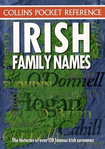 9780004720708: Irish Family Names (Collins Pocket Reference)