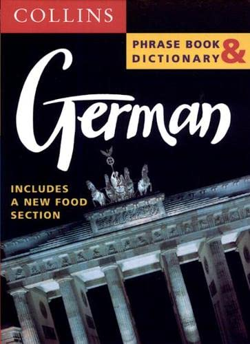 9780004720739: Collins German Phrase Book and Dictionary (Collins phrase book & dictionary)