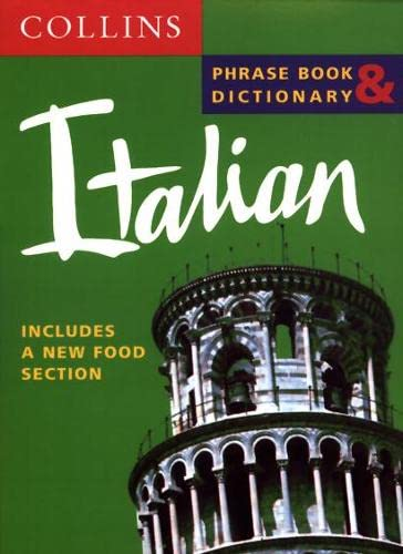 9780004720746: Collins Italian Phrase Book and Dictionary (Collins phrase book & dictionary)