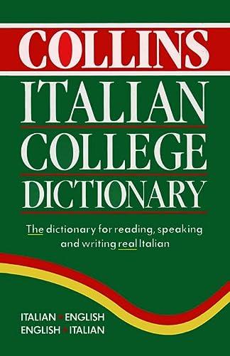 9780004720975: Collins Italian College Dictionary