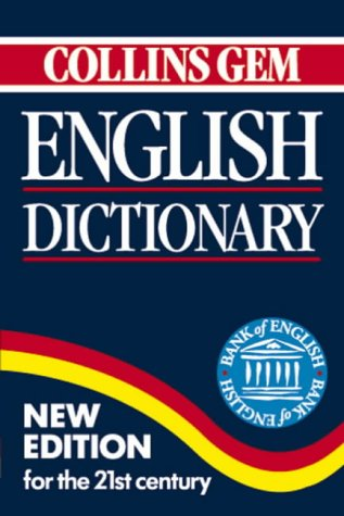 9780004721156: Collins Gem English Dictionary (Collins Gems)