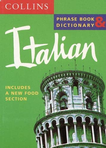9780004721385: Italian Phrase Book & Dictionary