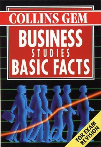9780004721552: Business Studies Basic Facts (Collins Gem)