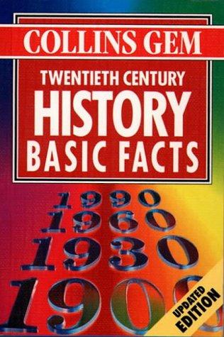9780004721705: Collins Gem - Twentieth Century History Basic Facts