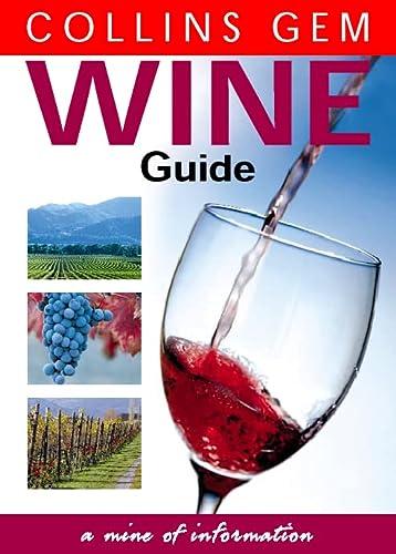 9780004721828: Collins Gem - Wine Guide