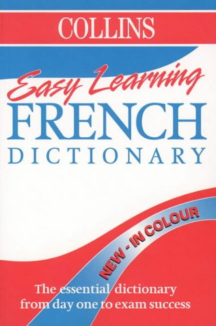 9780004721897: Collins Easy Learning French Dictionary (Collins Easy Learning French): Colour Edition