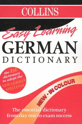 9780004721903: Collins Easy Learning German Dictionary (Collins Easy Learning German): Colour Edition