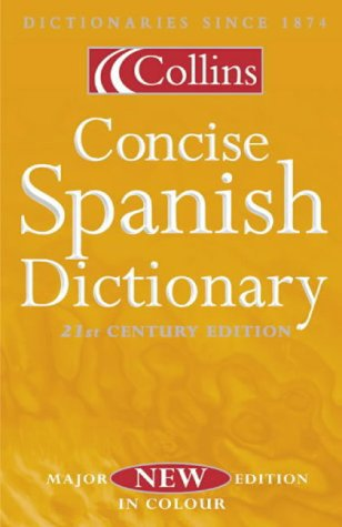 9780004721927: Collins Concise Spanish Dictionary