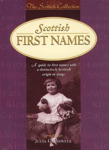 9780004722597: Scottish First Names (Scottish Collection)