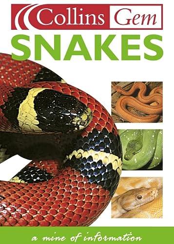 9780004722740: Collins Gem Snakes