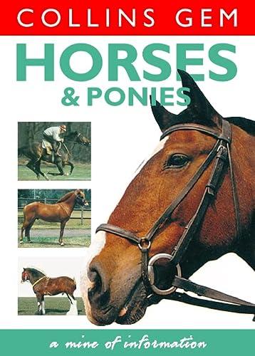 9780004722788: Collins Gem - Horses and Ponies