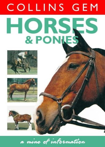 9780004722788: Horses and Ponies (Collins GEM)