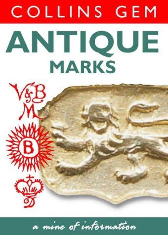 9780004722863: Collins Gem - Antique Marks