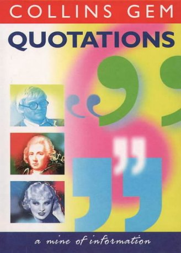 9780004722870: Collins Gem - Quotations