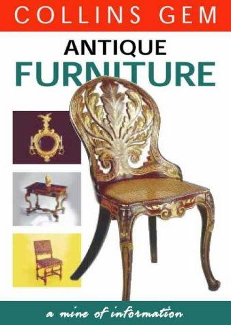 9780004723440: Antique Furniture (Collins Gem)