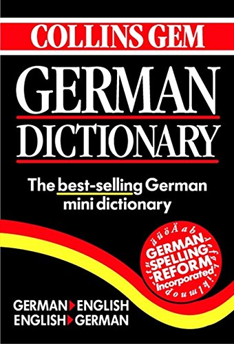 9780004723570: Collins Gem German Dictionary