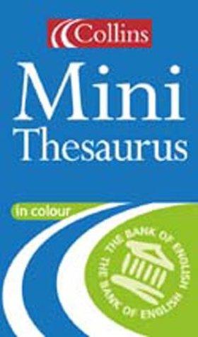 9780004723792: Collins English Mini Thesaurus