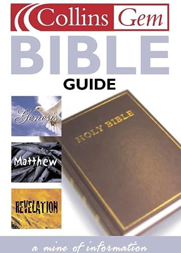 9780004723853: Bible Guide (Collins GEM)