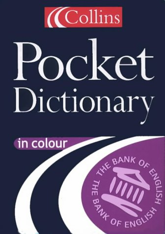 9780004723877: Collins Pocket English Dictionary