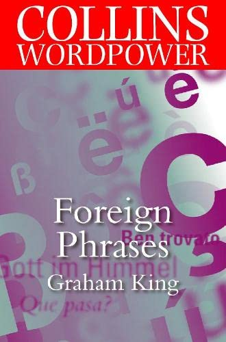 9780004723884: Foreign Phrases (Collins Word Power)